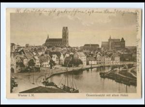 XX001376-239./ Wismar Hafen AK 1929