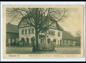 XX001337-2723/ Scheeßel Hotel zur Post AK 1911