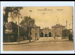 XX001393-6680/ Neunkirchen (Saar) Bahnhof AK 1914