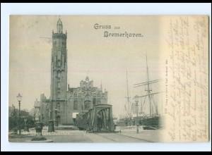 XX01196/ Bremerhaven Leuchtturm AK 1900
