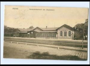 XX001535-3150/ Peine Bahnhof der Staatsbahn AK 1915