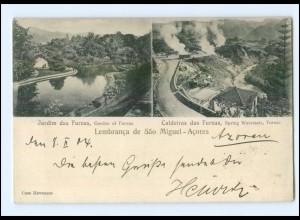 XX001237/ Lembranca de sao Miguel - Acores Azoren Ak 1904