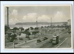 XX001227/ Durban Marine Parade Elektrobus Foto AK 19300 Südafrika