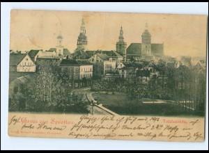 XX001358/ Gruß aus Sprottau Schlesien AK 1899