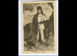 Y9962/ Rümänische Schäferin Rumänien AK 1917