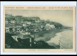 Y10107/ Ventnor - Isle of Wight Dampfer Oceana 4.10.1932 HAPAG Reise AK