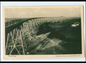 Y10036/ Rendsburg Hochbrücke AK 1927
