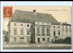 Y10103/ Saint-Germain-en-Laye Le Theatre AK Frankreich 1908