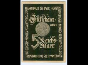 Y9977/ Krankenkasse des Bayer. Handwerks und Gewerbe, München AK ca.1935
