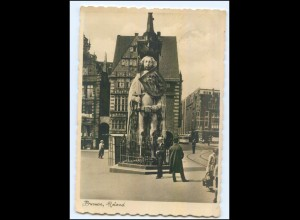 Y9975/ Bremen Roland Foto AK 1934
