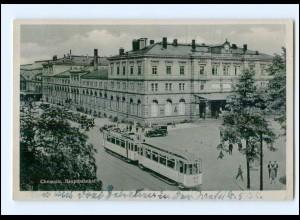 U3578/ Chemnitz Hauptbahnhof Straßenbahn 1944