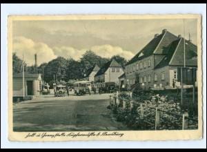 U3592/ Kupfermühle Flensburg Zoll und Grenze AK 1940