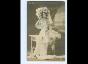 Y10072/ De Dio Künstler schöne Foto AK ca.1905