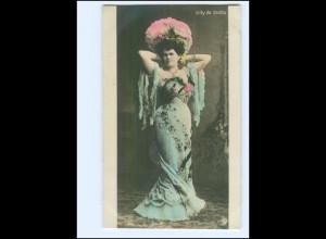 Y10071/ Lilly de Stella schöne Foto AK 1906