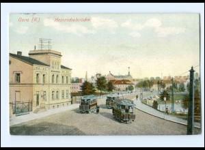 XX001589-075/ Gera Heinrichsbrücke Straßenbahn 1909 AK