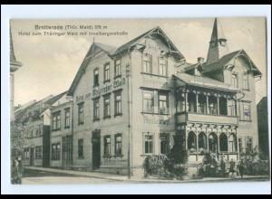 XX001612-985./ Brotterode Thür. Hotel zum Thüringer Wald AK ca.1910