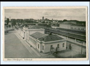 XX001711/ Posen (Warthegau) Bahnhof AK 1941
