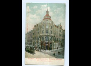 XX002024-091./ Chemnitz Automaten Restaurant Straßenbahn AK ca.1905