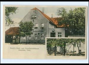 XX001706-075./ Roschütz b. Gera Koch`s Gasthaus AK ca.1925