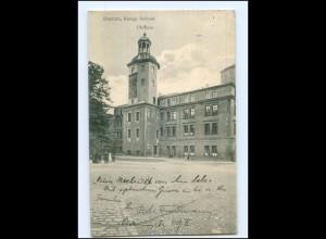 XX001760/ Pommern Stettin Königl. Schloss Uhrturm 1910 AK