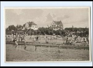 XX001814-239./ Insel Poel Strand beim schwarzen Busch 1931 AK