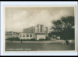 XX001811-18./ Warnemünde Kurhaus 1928 Foto AK