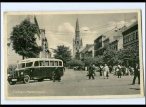 XX001890/ Memel Markstraße Omnibus AK 1939 Litauen