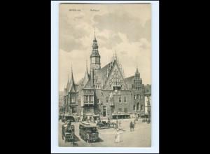 XX001740/ Schlesien Breslau Rathaus 1919 AK