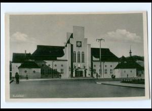 XX002025/ Gotenhafen Gdynia Bahnhof AK ca.1940