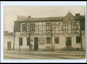 XX002037-167/ Sommerfeld Gasthof Ernst Kindel Foto AK Bahnpost Kremmen-Wittstock