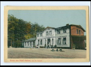 XX001826-239./ Gruß aus Hotel Kleinen 1910 AK