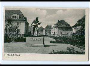 XX001453/ Rostock Skagerrak-Denkmal AK 1941