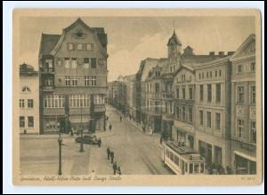 XX002081/ Graudenz Adolf-H.-Platz und Lange Straße AK