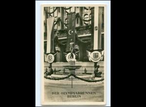 XX008859/ Olympiabrunnen Berlin Olympiade 1936 Foto AK