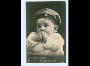 Y10328/ 1. Weltkrieg Baby in Uniform AK 1917