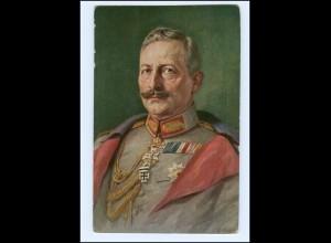 U4232/ Kaiser Wilhelm mit Ehrenzeichen AK 1916