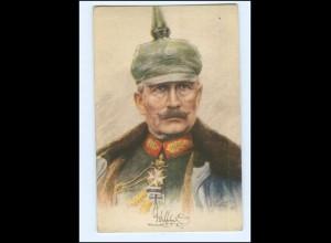 U3892/ 1. Weltkrieg Kaiser Wilhelm mit Pickelhaube AK 1915