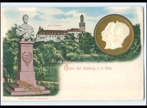 U4046/ Adel Kaiser Wilhelm und Kaiserin,m Homburg v.d. Höhe AK ca.1900