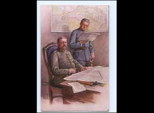 Y10199/ Hindenburg 1. Weltkrieg AK ca.1915 M.Munk