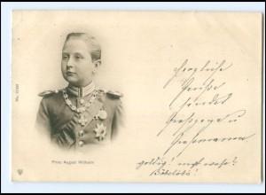 U4064/ Prinz August Wilhelm AK 1901