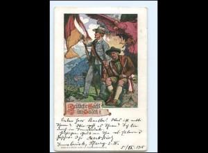 Y10673/ Deutsche Wacht im Süden Südtirol AK ca.1905