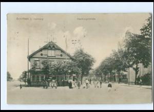 XX004355/ Hamburg Schiffbek Hamburgerstraße AK 1915