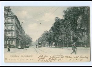 XX002058/ Hamburg Rotherbaum Grindelallee 1908 AK