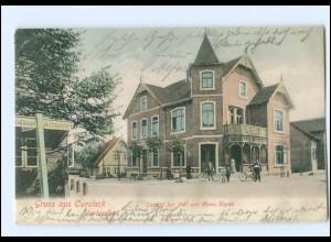 XX002722/ Hamburg Curslak Vierlanden Gasthof zur Post AK 1906