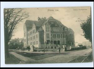 XX001985/ Hamburg Altona Allee Höhere Töchterschule AK ca.1910
