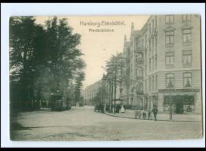 XX002662/ Hamburg Eimsbüttel Alardusstraße Straßenbahn AK ca.1910