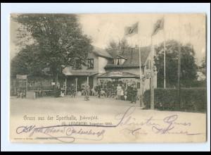XX002551/ Hamburg Bahrenfeld Gruß aus der Sporthalle 1907 AK