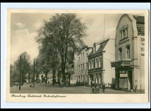 XX14698/ Hamburg Rahlstedt Bahnhofstraße Foto AK 1944 Eisenwaren Möller
