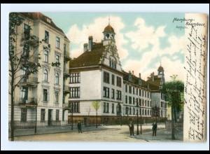 XX002526/ Hamburg Barmbek Schule 1905 AK