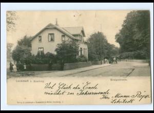 XX10208/ Hamburg Lokstedt Königsstraße AK 1900